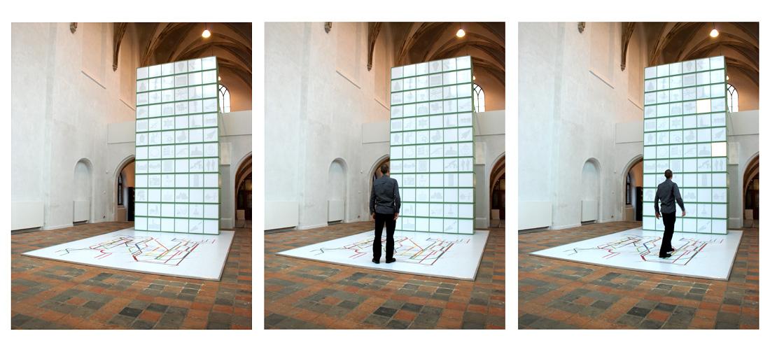 Installatie / Canon Nijmeegse Geschiedenis