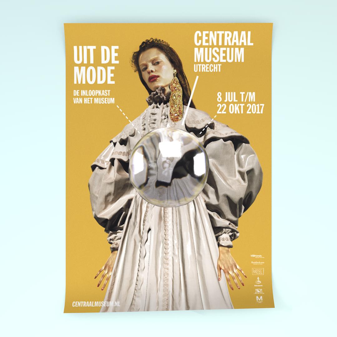 Poster voor het Centraal Museum Utrecht