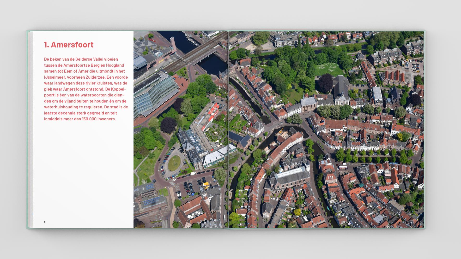 Boekontwerp 'De stadsgenese'