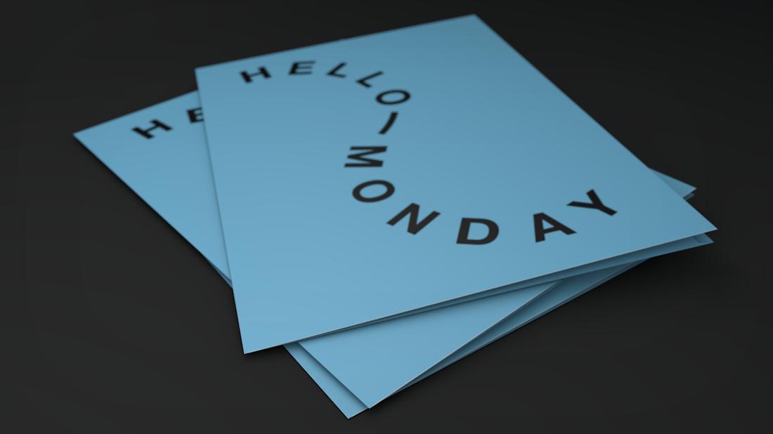 Huisstijl Hello Monday