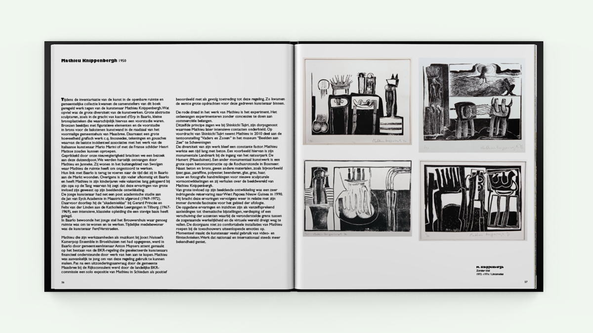 """Boek """"Kunst in beeld'"""