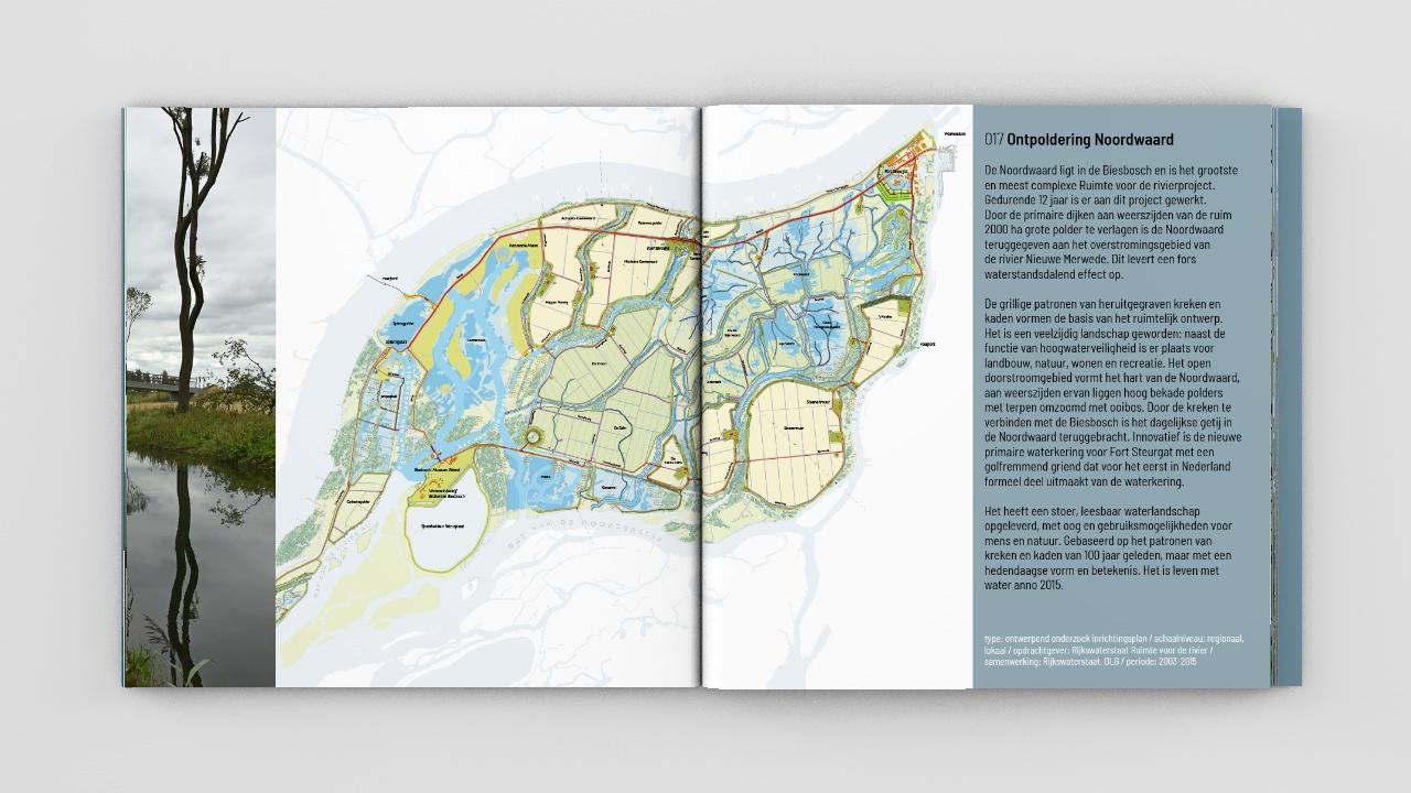 Boekontwerp voor Robbert de Koning Landschapsarchitect BNT