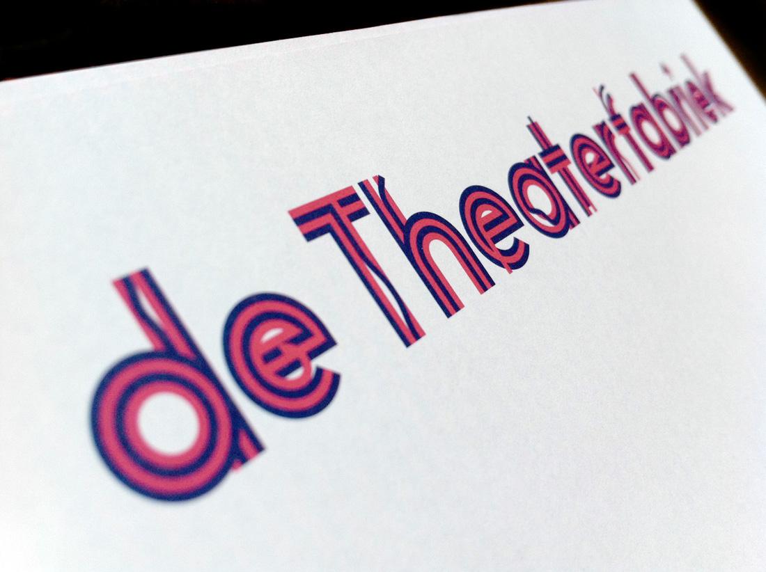 Huisstijl voor DeTheaterfabriek