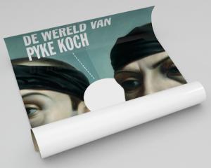 Campagnebeeld en abri voor het Centraal Museum Utrecht